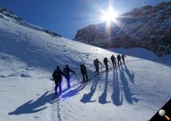 Skitourengruppe der OG Balsthal